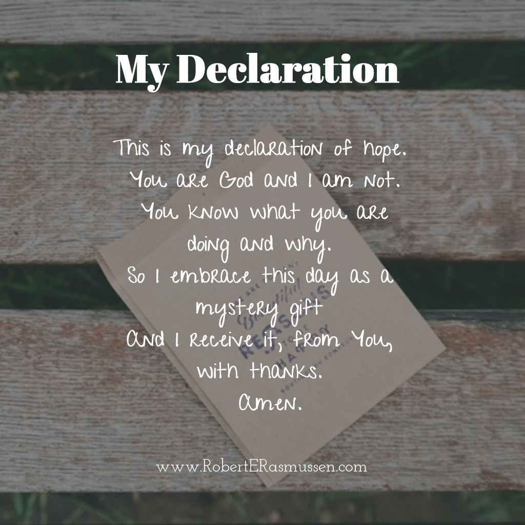 declaration of hope