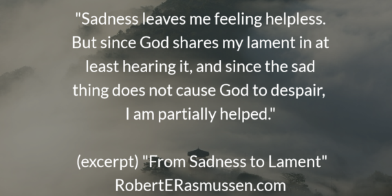 lament is sadness shared